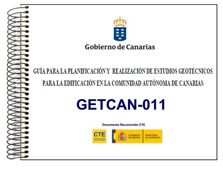 Guía Planificación Estudios Geotécnicos Canarias